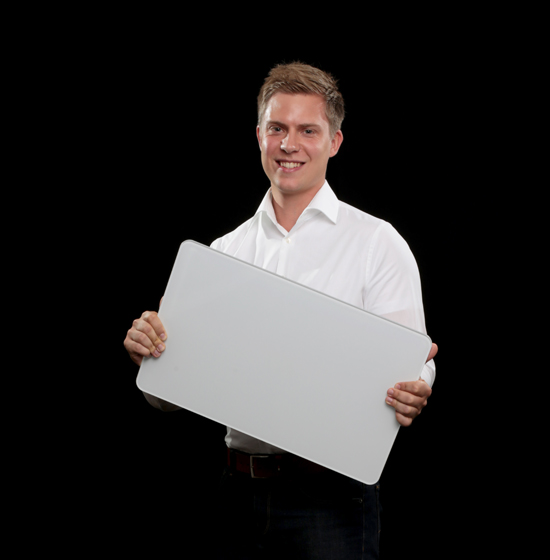 Infrarotexperte Peter Stadler