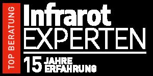 Infrarotexperten 15 Jahre Erfahrung weiß